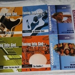 lot of 8 youth christian books